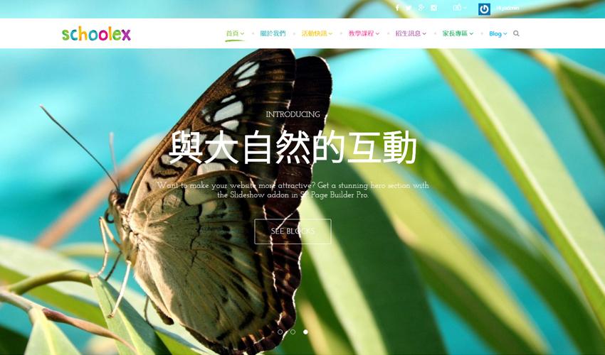 Schoolex教育類專業網站
